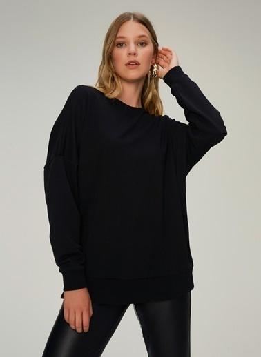 NGSTYLE Oversize Sweatshirt Siyah
